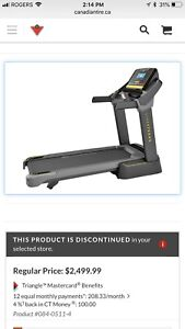 Live Strong Treadmill - Good as New Condition