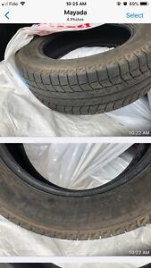 Winter tires for sale. Michelin Latitude XICE X12. Like new