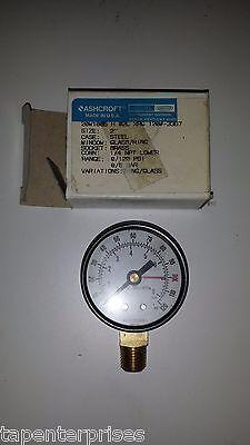 Ashcroft Pressure Gauge 20w1005 H 02l Xrg 120-3367