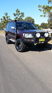 1999 toyota landcruiser 105 series gxl Miller Liverpool Area Preview