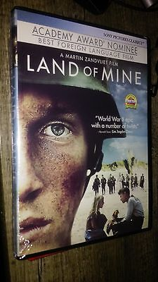 Land Of Mine Movie  Dvd  Factory Sealed  New  Free Shipping Rare True Story Wwii