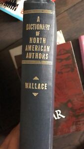A dictionary of north american authors