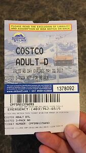 Sunshine Ski Resort Adult Lift Pass/discount coupons