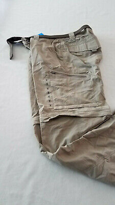 bde74d25df2cd NWT Columbia Silver Ridge beige khaki Convertible Pant 34W x 30L FREE  SHIPPING