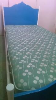 Kids Single Bed and Mattress in Good condition