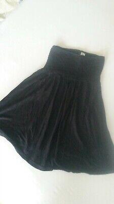 Kleid für Mädchen schwarz schulterfrei Gr. 36 DIVIDEO H&M Hänger Top  ()