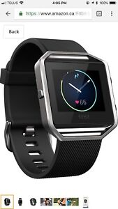 Fitbit Ionic Smartwatch, Charcoal/Smoke Gray,