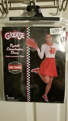 Halloween costumes women, Grease Rydell High Cheerleader Adult Standard Size