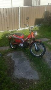 2005 Honda CT110 'Postie' bike Lithgow Lithgow Area Preview
