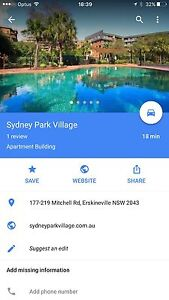 Secure Underground Carpark rental Erskineville Inner Sydney Preview
