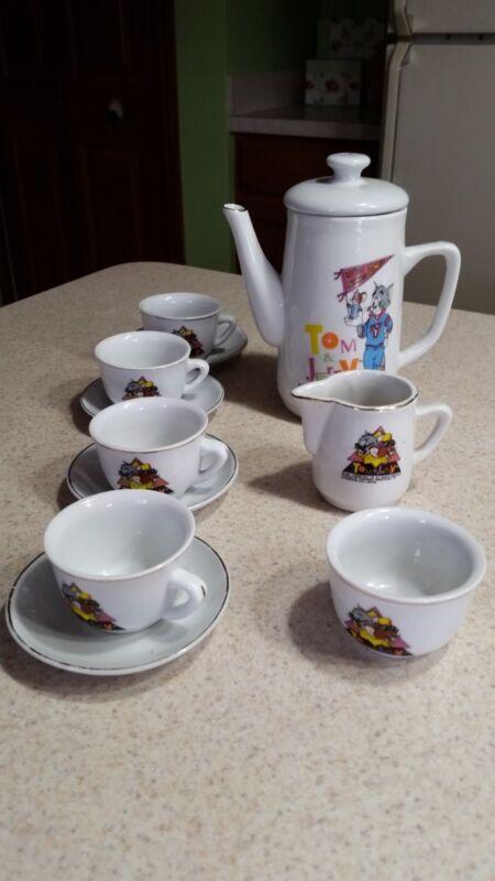 Tom and Jerry Tea Set Child Size