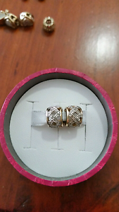Emma&Roe 10ct yellow gold 1/4 carat diamond charm RRP $599ea Browns Plains Logan Area Preview