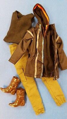 Barbie Hunger Games Outfit: Katniss/J Lo/Cher/Beyonce/Shakira/Fan Bing Doll Pal