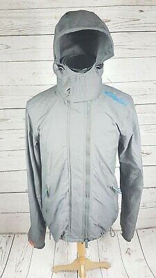 SUPERDRY Japan WindCheater Hooded XL Women's Jacket 3 Zipper System