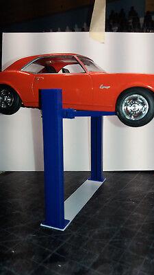 Model Car Twin Post Lift 1:24 1:25 scale Diorama