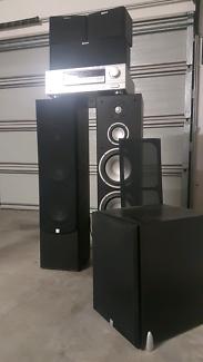 Sherwood 5.1ch surround sound system