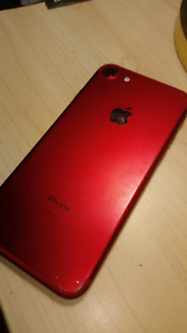 Iphone 7 special red edition 128 gb