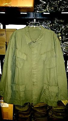 Vietnam Era Reproduction Slant Pocket BDU Shirt  XL NEW