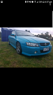 """Holden SV6 """"Limited Edition Turismo Blue"""" rego/rwc  P plate"""