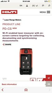 New Pdc distance laser range meter for sale brand new