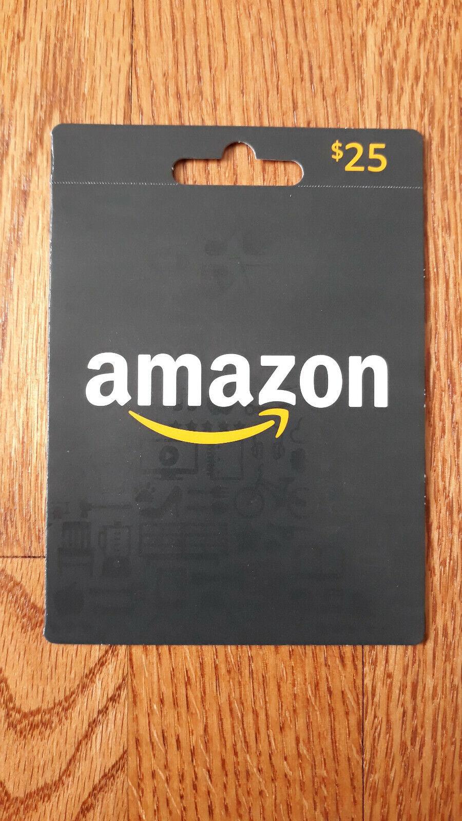 Amazon Gift Card 25 - $29.00