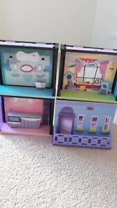 Littlest pet shop style sets