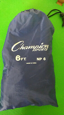 Champion Sport Parachute Kids Active Play Outdoor Game 6FT  & Carry Case New