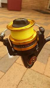 New peen 650 reel with 30 pound braid&rod Coombabah Gold Coast North Preview