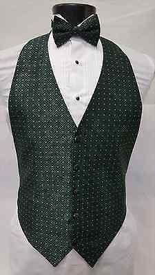 Boys Small Green Gold Vest Bowtie Tuxedo Kids Cheap Costume Play Tie Vintage Set](Cheap Fun Costumes)