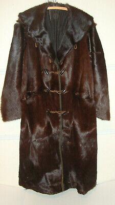 Men's Antique Leather Coat Jacket 1911