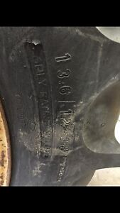 Waned tractor tire 13.6/12-38
