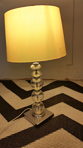 Glass table lamp Mitchelton Brisbane North West Preview