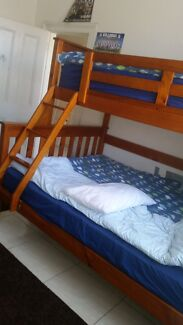 Bunk beds with mattresses Bexley Rockdale Area Preview