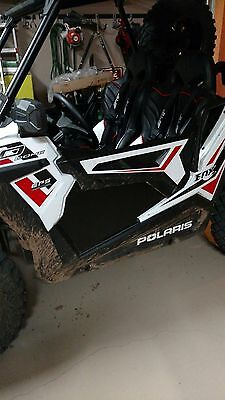 "Polaris RZR 900 Trail 50"" Lower Front Door Panels, Black, Set of 2 Panels"
