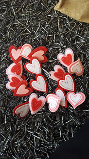 Adhesive Embroidered  Sticker Crafts