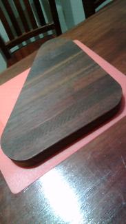 Jarrah chopping board