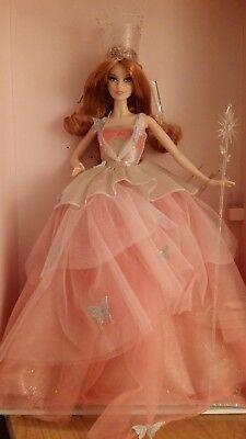 Wizard of Oz Glinda Barbie Glamour Good Witch Gold Label 2015 NRFB w/Shipper (Witch Origin)