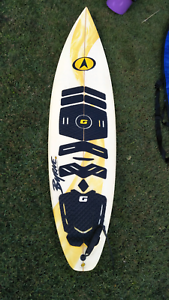 "6'6"" Byrne surfboard"