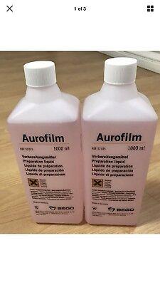 2 Bego Dental Lab Aurofilm Preparation Liquid Wetting Agent Debubblizer
