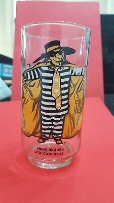 1970'S McDONALD'S HAMBURGLAR GLASS - NEW FROM CASE