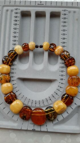 Vintage Baltic Amber necklace, Baltic amber, 100 grams