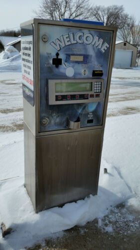 USED American Changer AC-8001 Automatic Car Wash Pay Station