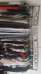Double clothes  rack handmade amazing metal racks twirl features Yagoona Bankstown Area Preview