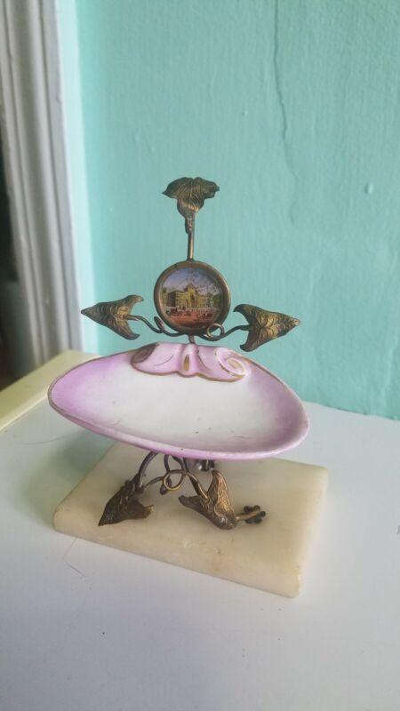 Porcelain Metal Vanity Tray