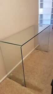Glass console table - OzDesing