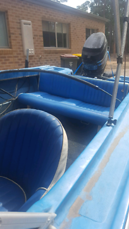 4.5 meter runabout boat