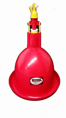 Plus-One Automatic Hanging Waterer Chicken Quail Poultry Bird Waterer