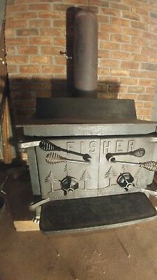 Fisher Wood Stove Grandpa Bear Heater