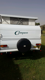 1998 Compass Poptop  Caravan East Gresford Dungog Area Preview