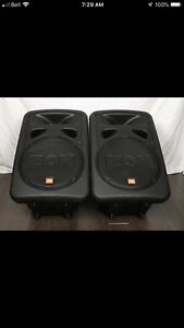 JBL eon 15 G2 - Pair with cover bag.